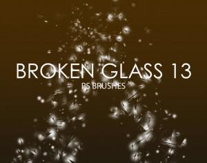 Free Broken Glass Photoshop Brushes 13 Photoshop brush