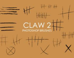 Free Claw Photoshop Brushes 2 Photoshop brush