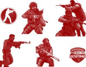 Counter-Strike Brushes Photoshop brush