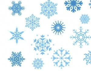 Snowflake Brushes Photoshop brush