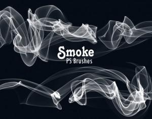 20 Smoke PS Brushes abr. Vol.10 Photoshop brush