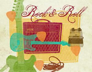 Rock & Roll Photoshop brush