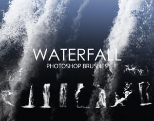 Free Waterfall Photoshop Brushes Photoshop brush