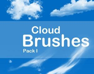 13 Cloud Brushes Photoshop brush