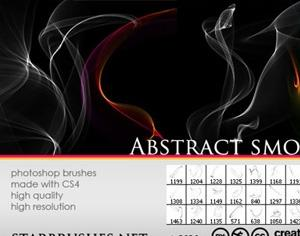 Abstract Smoke Photoshop brush