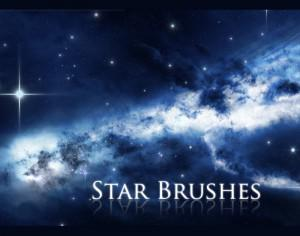 7 Star Brushes Photoshop brush