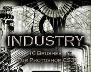 Industrial Brushes Photoshop brush