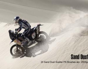 20 Sand Dust Scatter Ps Brushes abr vol 2 Photoshop brush
