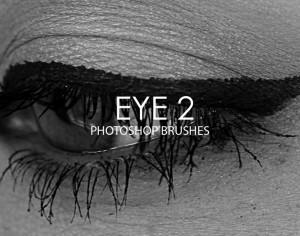 Free Eye Photoshop Brushes 2 Photoshop brush