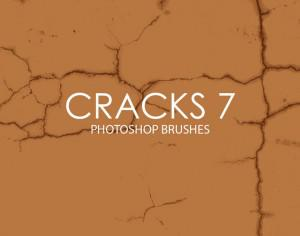 Free Cracks Photoshop Brushes 7 Photoshop brush