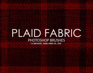 Free Plaid Fabric Photoshop Brushes Photoshop brush