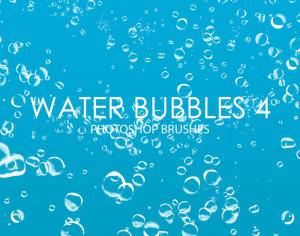 Free Water Bubbles Photoshop Brushes 4 Photoshop brush