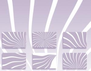 Curled Sun Stripes Brushes Photoshop brush