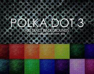 Free Polka Dot Backgrounds 3 Photoshop brush