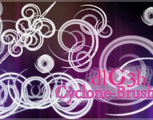 Cyclone-Brushes Photoshop brush