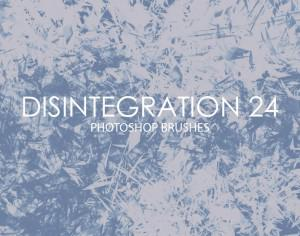 Free Disintegration Photoshop Brushes 24 Photoshop brush
