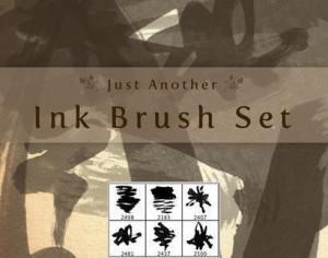 just another ink brush set Photoshop brush