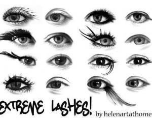 Extreme Lashes! Photoshop brush
