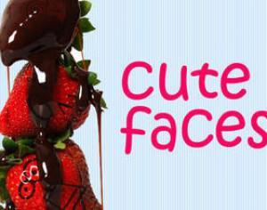 Cute Faces Photoshop brush