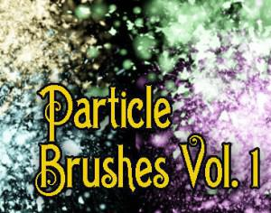 Hi-Res Particle Brushes Vol. 1 Photoshop brush