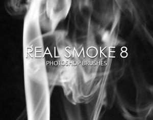 Free Real Smoke Photoshop Brushes 8 Photoshop brush