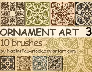 Ornament Art Part 3 Photoshop brush