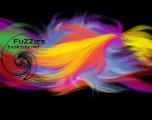 Fuzzies Brushes Photoshop brush