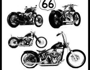 bobber bike harley davidson Photoshop brush