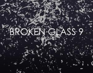 Free Broken Glass Photoshop Brushes 9 Photoshop brush