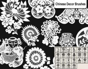 Chinese Decor Brushes Photoshop brush