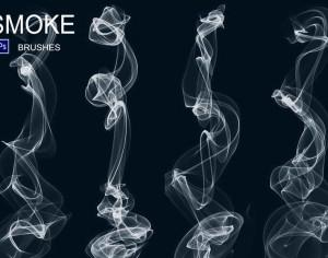 20 Smoke PS Brushes abr. Vol.6 Photoshop brush
