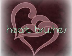 Heart Brush Pack Photoshop brush