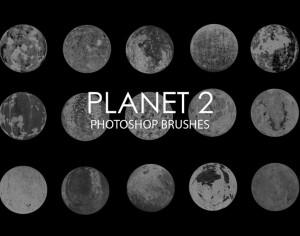 Free Abstract Planet Photoshop Brushes 2 Photoshop brush