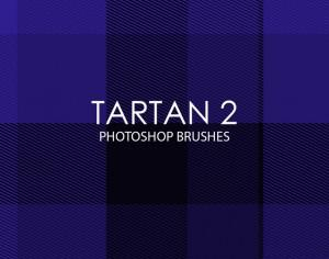 Free Tartan Photoshop Brushes 2 Photoshop brush