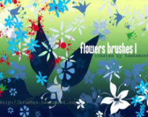 Flower Brushes Mega Pack Photoshop brush