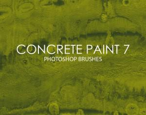 Free Concrete Paint Photoshop Brushes 7 Photoshop brush