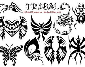 Tribal PS Brushes Vol.4 Photoshop brush