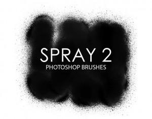 Free Spray Photoshop Brushes 2 Photoshop brush