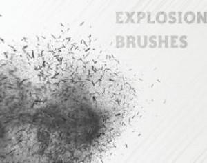 Free Explosion Brushes Photoshop brush