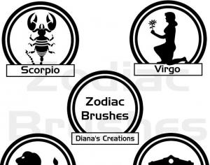 Zodiac Brushes Photoshop brush