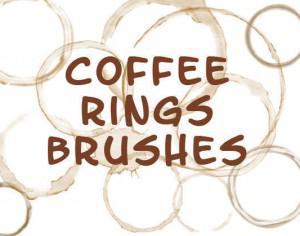 Coffee Mug Ring Stains Brushes Photoshop brush