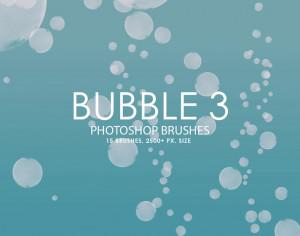 Free Bubble Photoshop Brushes 3 Photoshop brush