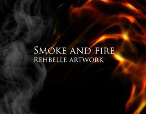 Smoke and Fire -Rehbelle Photoshop brush