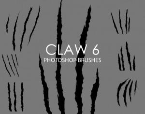Free Claw Photoshop Brushes 6 Photoshop brush
