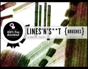 Lines Brushes Photoshop brush