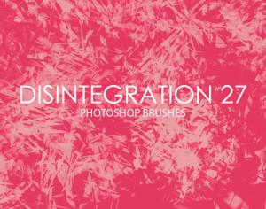 Free Disintegration Photoshop Brushes 27 Photoshop brush