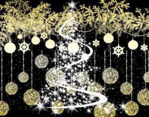 Christmas elements Photoshop brush