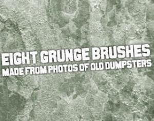 Dumpster Grunge Brushes Photoshop brush