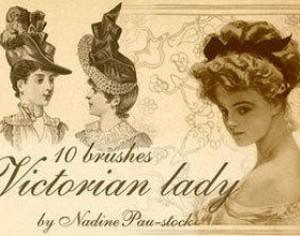 Victorian Ladies Photoshop brush