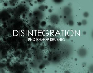 Free Disintegration Photoshop Brushes Photoshop brush